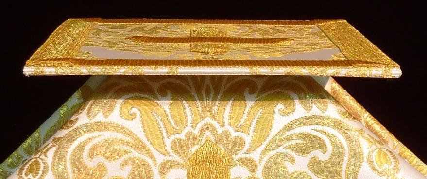 Carpetilla y velo de cáliz