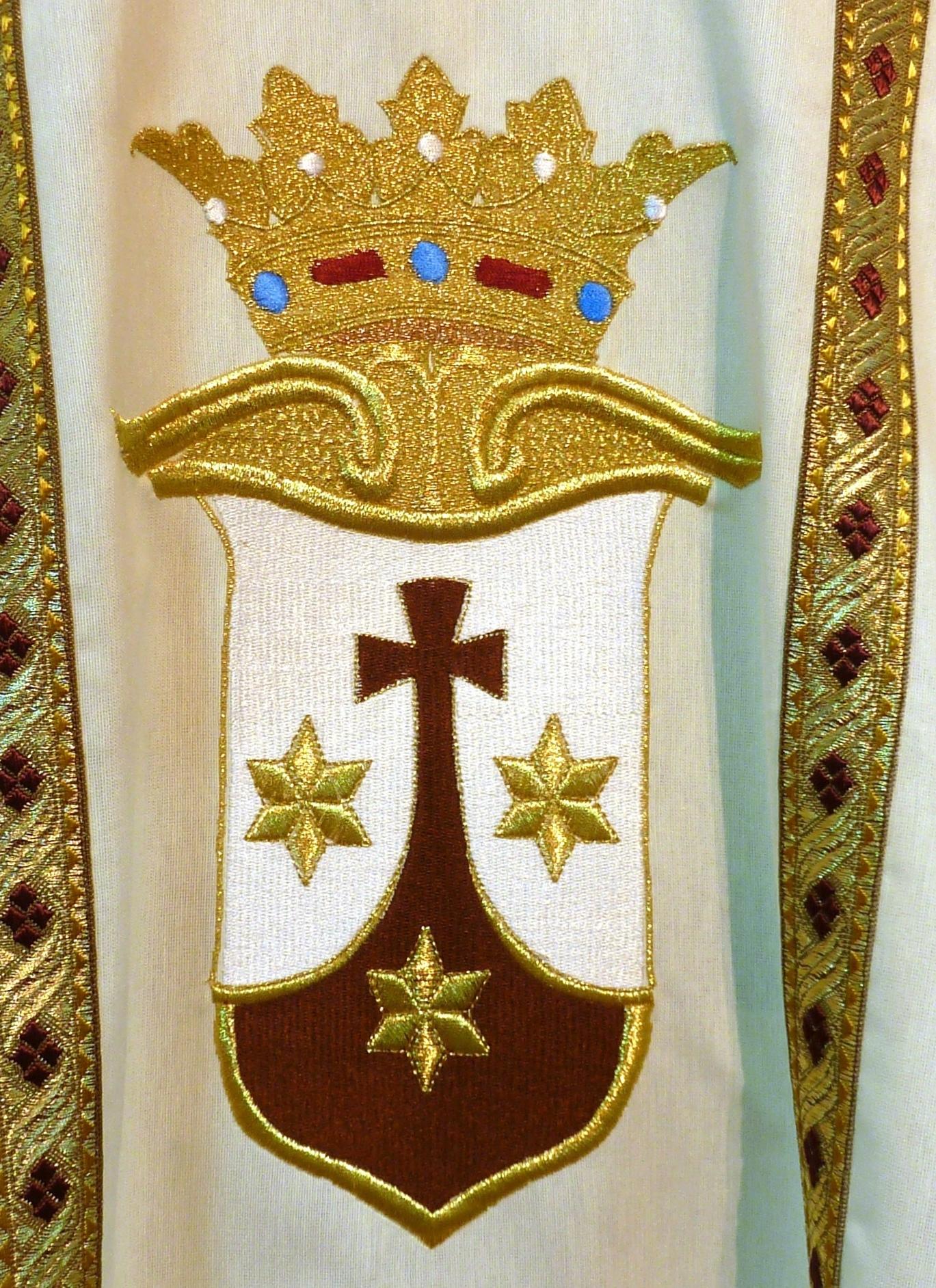 detalle de escudo