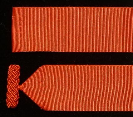 Cinta de amito otomán con muletilla de rayón
