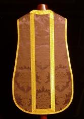 Espalda de casulla morada