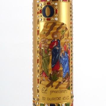 Cirio Pascual con icono