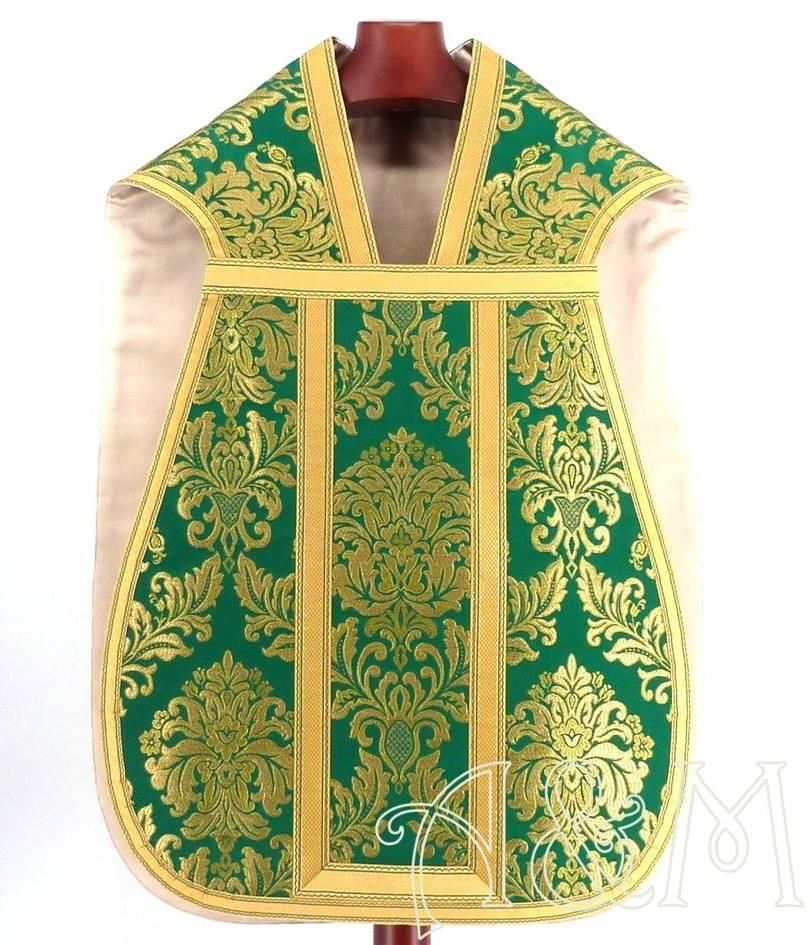 casulla romana verde