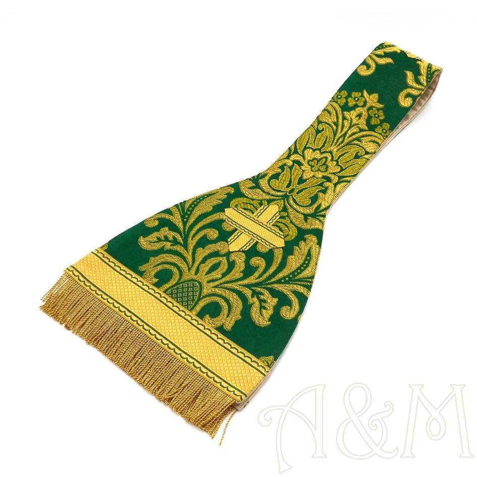 manipulo verde de corte romano